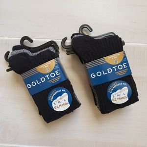 Gold Toe Socks for Kids 6 Pairs - Small